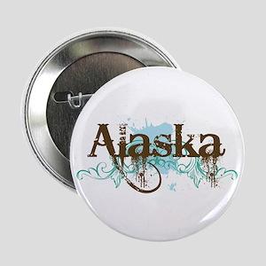 """ALASKA grunge 2.25"""" Button (10 pack)"""
