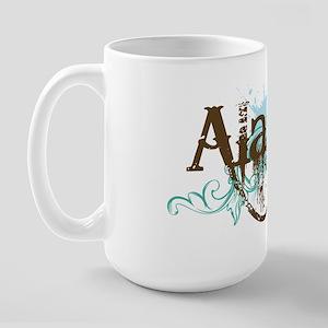 ALASKA grunge Large Mug