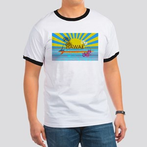 Hawaii Bright Colorful Colors T-Shirt