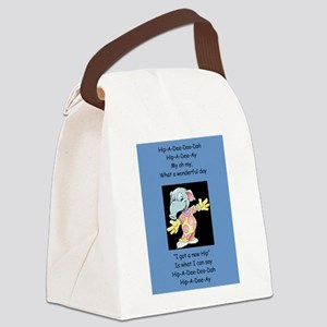 Hip-A-Dee-Doo-Dah Canvas Lunch Bag