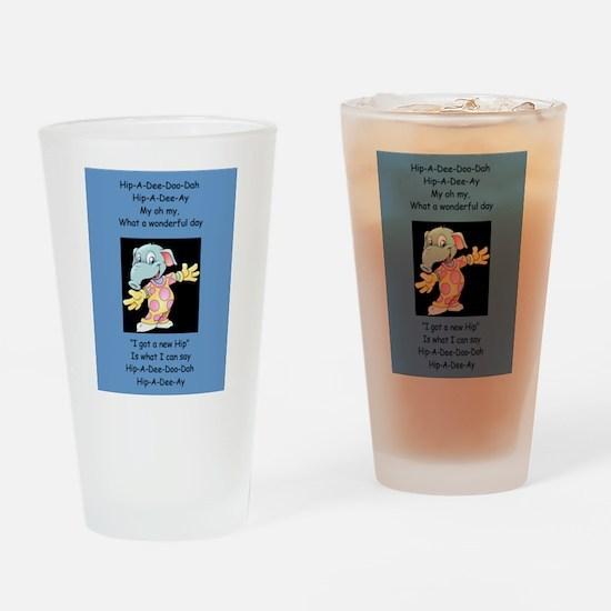 Hip-A-Dee-Doo-Dah Drinking Glass