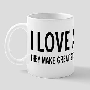 I Love Animals Mug