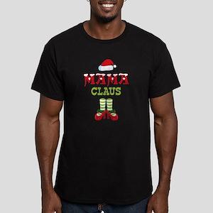 Mama Claus 2 Men's Fitted T-Shirt (dark)