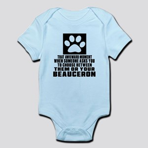 Beauceron Awkward Dog Designs Infant Bodysuit