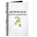 Jesus Paid For Our Sins Journal