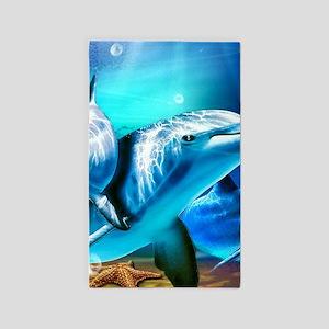 Dolphins Area Rug