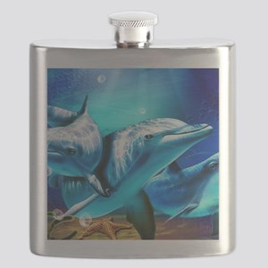 Dolphins Flask