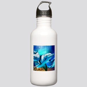 Dolphins Sports Water Bottle