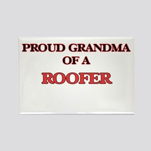 Proud Grandma of a Roofer Magnets