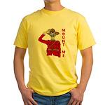 Mount Me Yellow T-Shirt