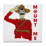 Mount Me Tile Coaster