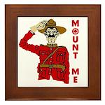 Mount Me Framed Tile