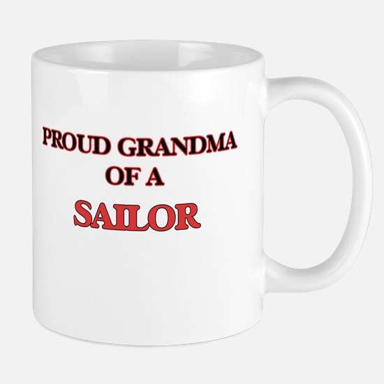 Proud Grandma of a Sailor Mugs