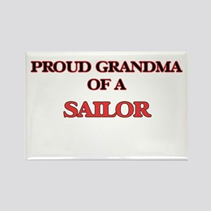 Proud Grandma of a Sailor Magnets