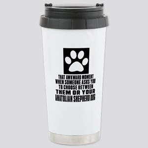 Anatolian Shepherd dog Stainless Steel Travel Mug