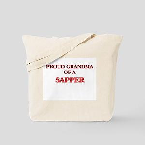 Proud Grandma of a Sapper Tote Bag