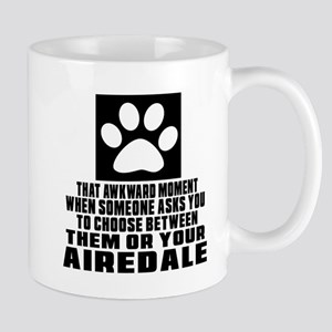 Airedale Awkward Dog Designs Mug