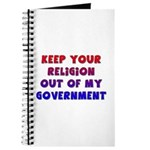 Keep Your Religion Out Of My Journal