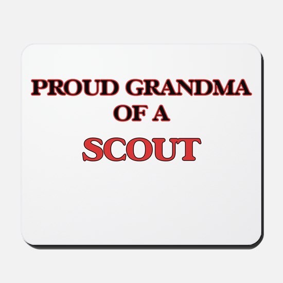 Proud Grandma of a Scout Mousepad