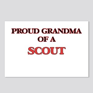 Proud Grandma of a Scout Postcards (Package of 8)
