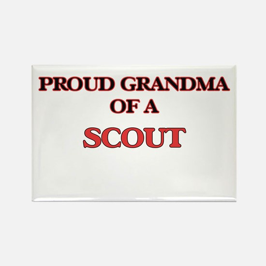 Proud Grandma of a Scout Magnets