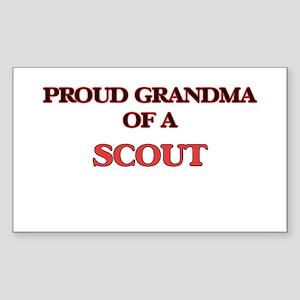 Proud Grandma of a Scout Sticker