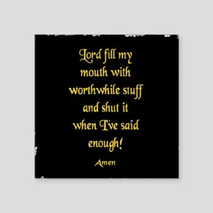 Lord Fill my Mouth Sticker