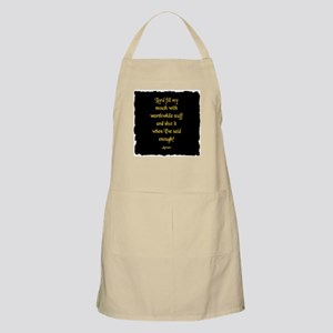 Lord Fill my Mouth Apron