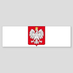 Poland Arms Bumper Sticker