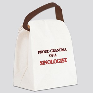 Proud Grandma of a Sinologist Canvas Lunch Bag