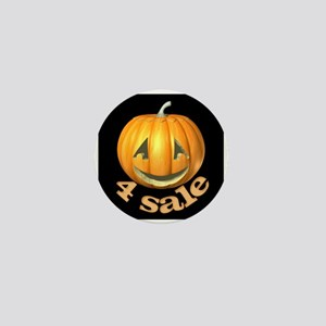 Pumpkins 4 Sale Mini Button
