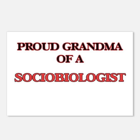 Proud Grandma of a Sociob Postcards (Package of 8)
