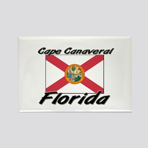 Cape Canaveral Florida Rectangle Magnet