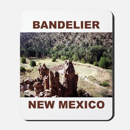 BANDELIER, NEW MEXICO Mousepad
