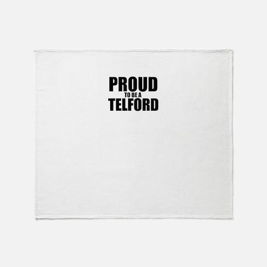 Proud to be TEETS Throw Blanket