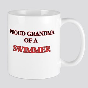 Proud Grandma of a Swimmer Mugs