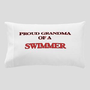Proud Grandma of a Swimmer Pillow Case