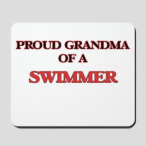 Proud Grandma of a Swimmer Mousepad