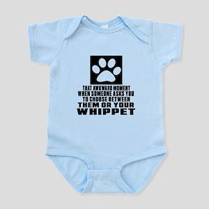 Whippet Awkward Dog Designs Infant Bodysuit