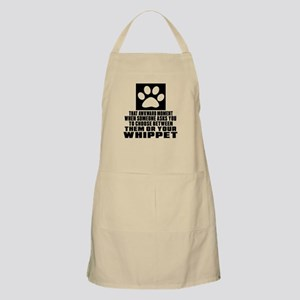 Whippet Awkward Dog Designs Apron