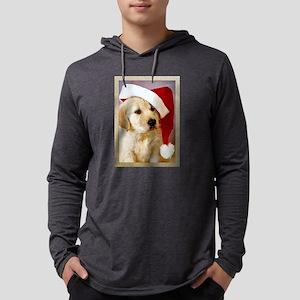 Golden Retriever Christmas Long Sleeve T-Shirt