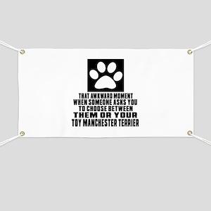Toy Manchester Terrier Awkward Dog Designs Banner