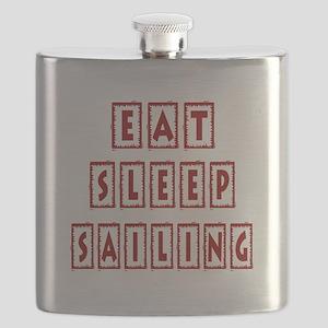 Eat Sleep Sailing Flask