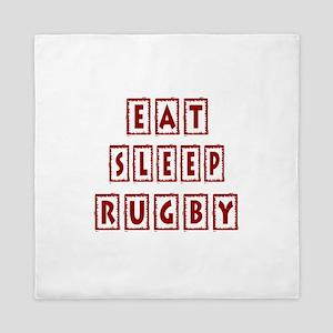Eat Sleep Rugby Queen Duvet