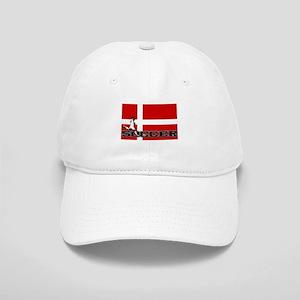 Denmark Flag Soccer Cap