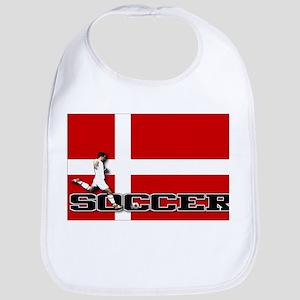 Denmark Flag Soccer Bib