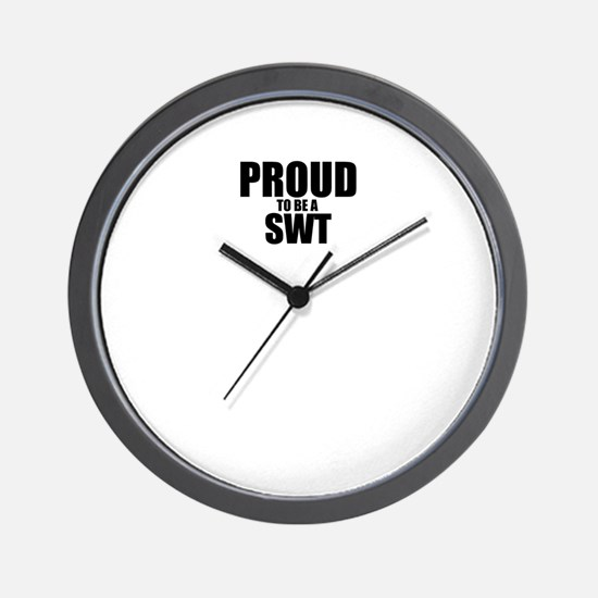 Proud to be SWANSON Wall Clock