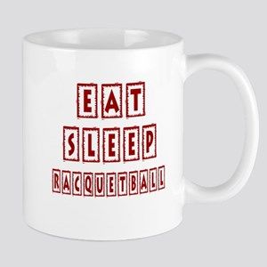 Eat Sleep Racquetball Mug