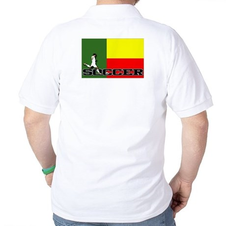 Dominica Flag Soccer Golf Shirt