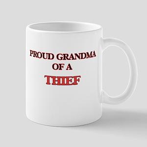 Proud Grandma of a Thief Mugs